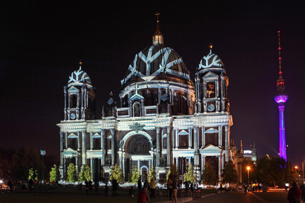 Berliner Dom ◆ Der Dom im Winterkleid ◆ präsentiert von Österreich