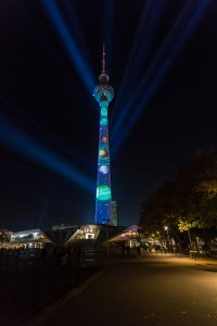 BERLINER FERNSEHTURM ◆ POWERED BY NETFLIX