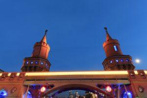 Oberbaumbrücke ◆ powered by BASF
