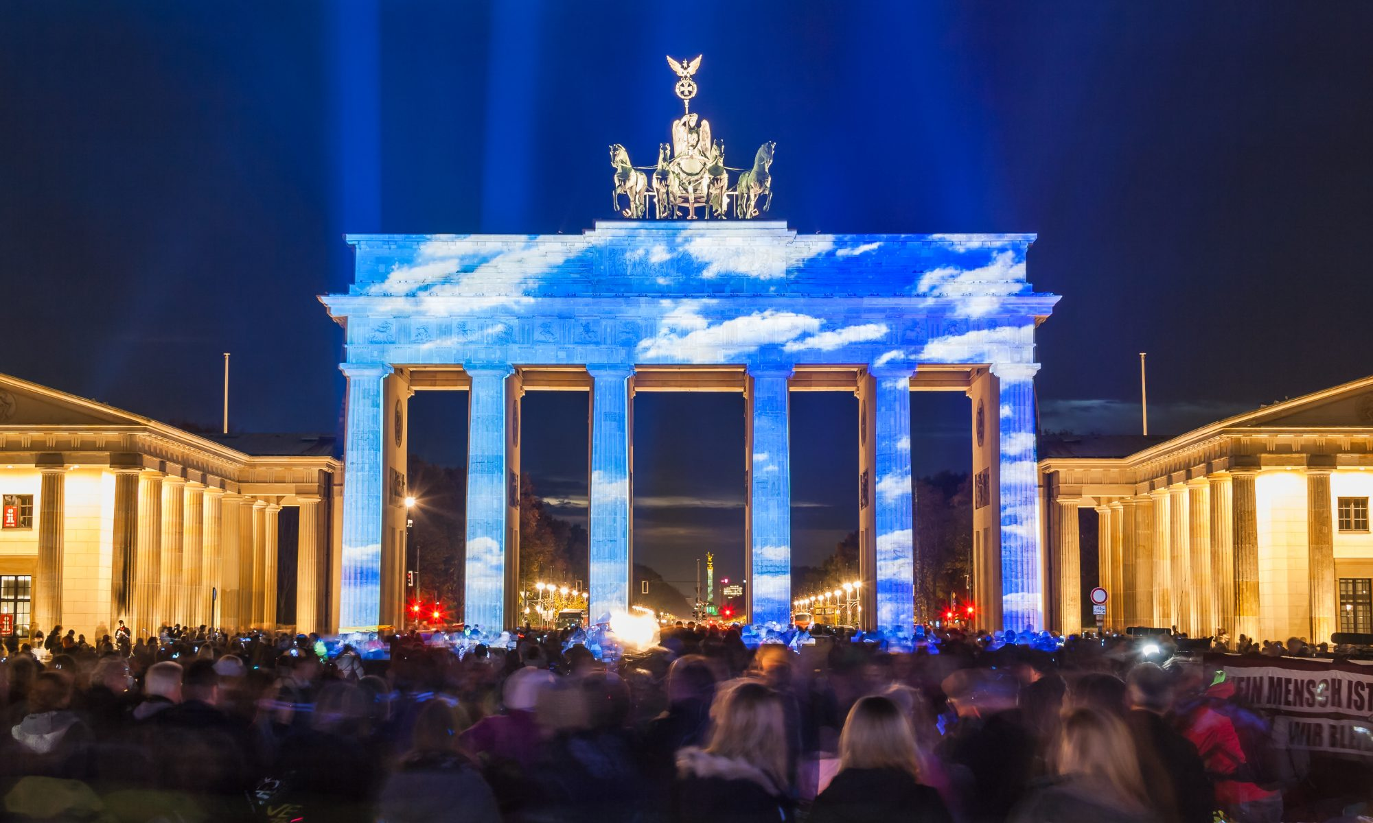 Brandenburger Tor ◆ With love to Berlin ◆ powered by Zander & Parnter