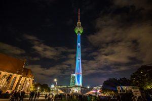 Berliner Fernsehturm ◆ präsentiert von E.ON