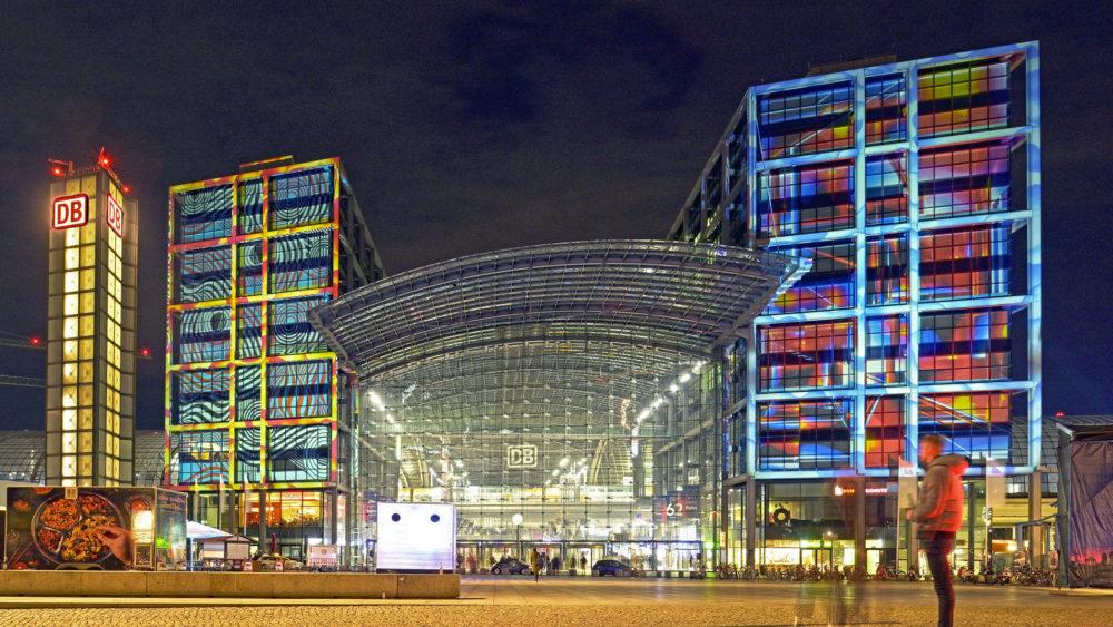 Berliner Bahnhöfe ◆ präsentiert von Deutsche Bahn / Mein Einkaufsbahnhof