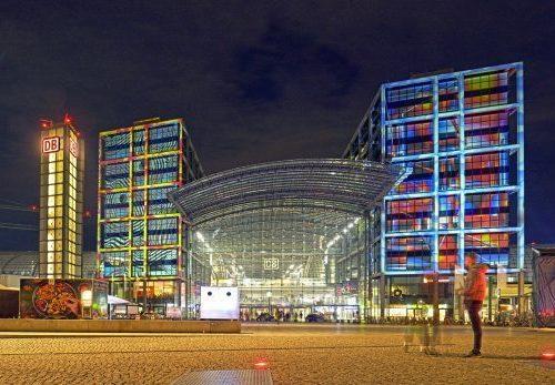 Stadtquartier und Shopping Malls