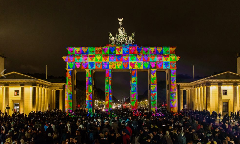 Brandenb. Tor Colors of Joy